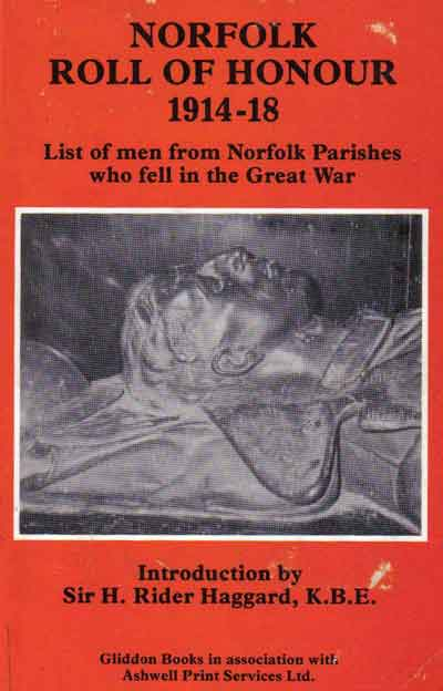 Norfolk Roll of Honour 1914 -1918